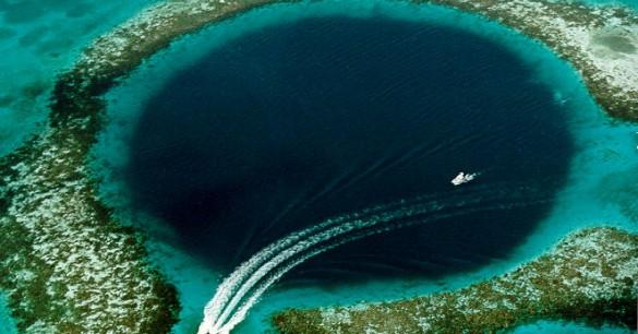 agujeros azules bahamas - Misteriosas criaturas en los agujeros azules de las Bahamas