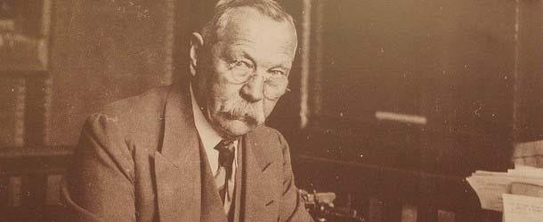 carta conan doyle hablar muertos - Una carta inédita de Sir Arthur Conan Doyle confirma que podía hablar con los muertos