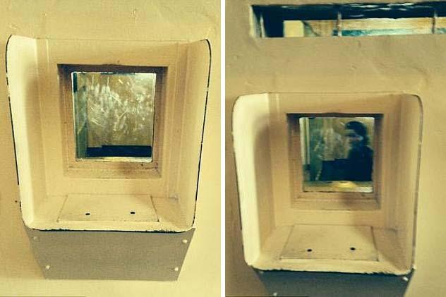 Fotografía fantasma mujer Alcatraz