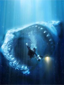 gran tiburon blanco - Enorme criatura misteriosa devora un gran tiburón blanco en las costas de Australia