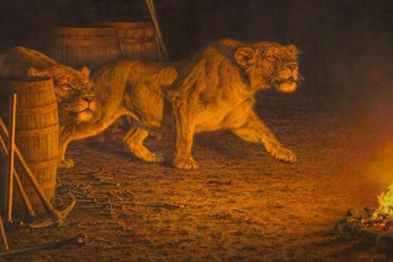 Leones Tsavo asesinos serie naturaleza