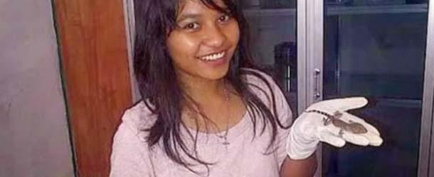 mujer da a luz lagarto - Una mujer da a luz a un lagarto en Indonesia