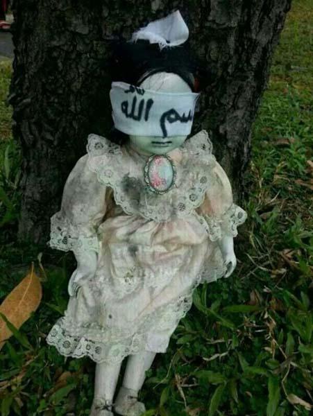 Muñeca poseída aterroriza Singapur