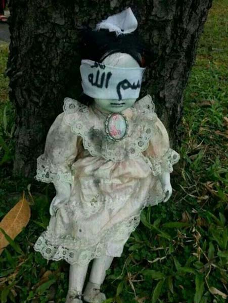muneca poseida aterroriza singapur Una muñeca poseída aterroriza a los lugareños de Singapur