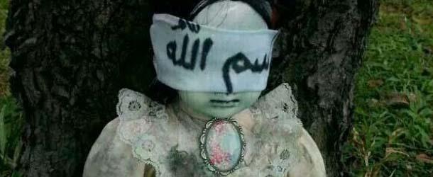 Una muñeca poseída aterroriza a los lugareños de Singapur