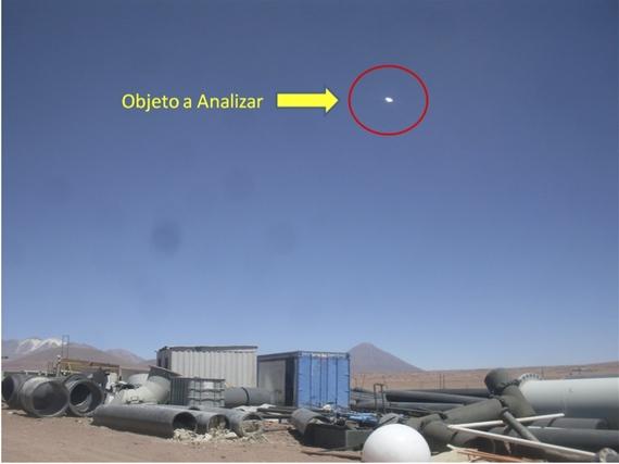 Avistamiento ovni Chile