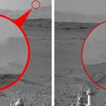 El Rover Curiosity vuelve a fotografiar un OVNI en Marte