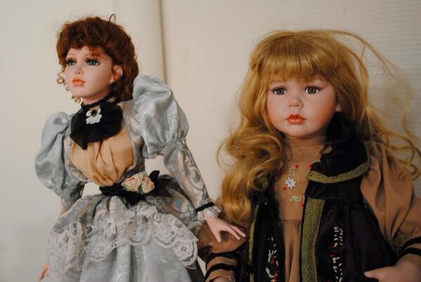 coleccion munecas embrujadas - Katrin Reedik y su colección de muñecas embrujadas