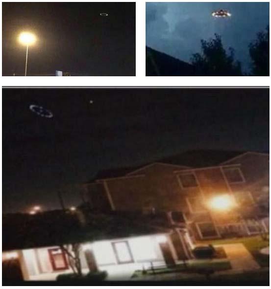espectacular ovni houston - Numerosos testigos avistan un espectacular OVNI en Houston