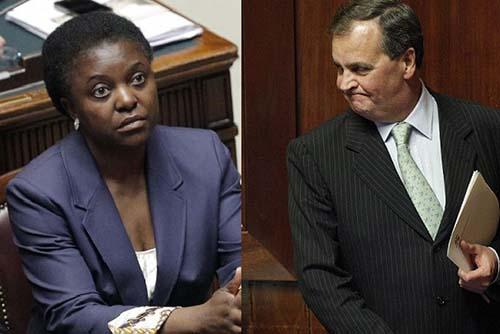 politico italiano magia negra Político italiano es víctima de la magia negra después de comparar a una exministra con un orangután