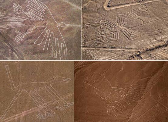 Fuertes vientos y tormentas de arena desvelan nuevas Líneas de Nazca