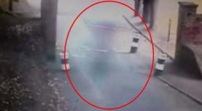 Cámaras de seguridad graban un fantasma en la entrada principal del castillo de Dover