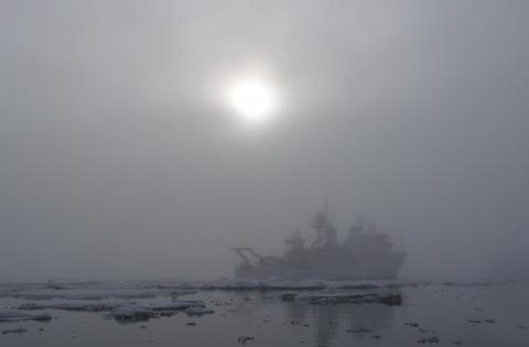misterioso barco fantasma artico - El misterioso barco fantasma del Ártico