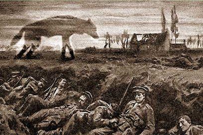 misterioso perro infernal - El misterioso perro infernal de la Primera Guerra Mundial
