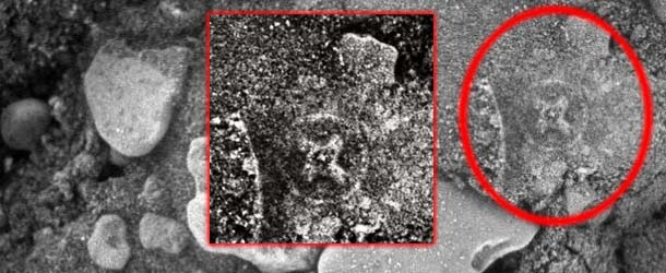 Descubren una Cruz Irlandesa en Marte