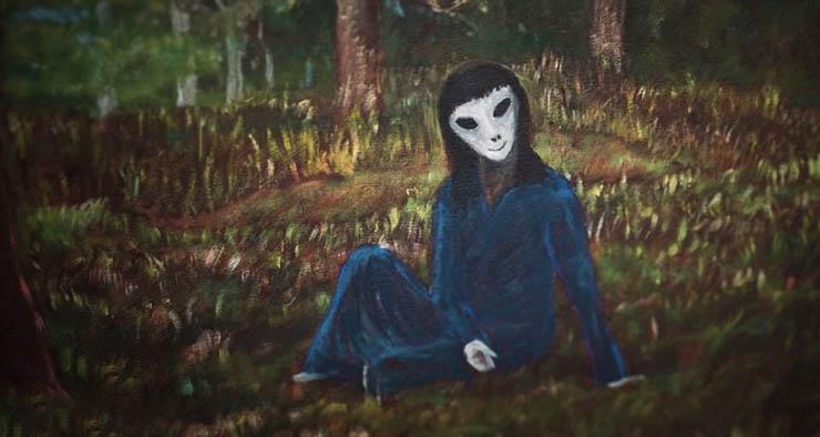david huggins pintor engendrados extraterrestre - David Huggins, el pintor que afirma tener varios hijos engendrados por un extraterrestre