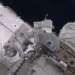 Las cámaras de la Estación Espacial Internacional graban un sorprendente OVNI