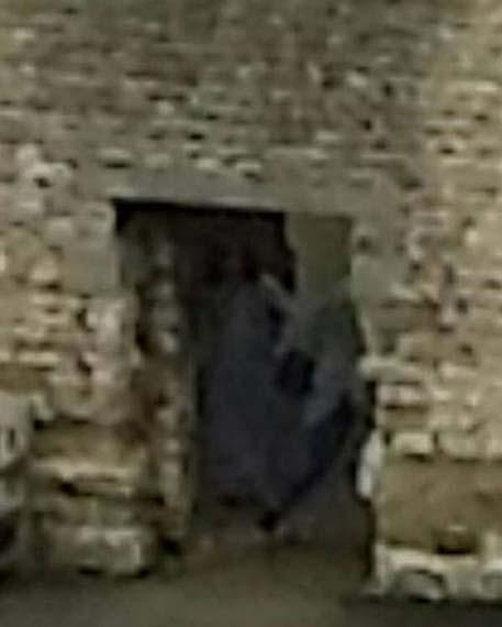 fantasma castillo de dudley Pareja británica fotografía el fantasma de Dorothy Beaumont en el castillo de Dudley