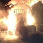 Aparece una figura fantasmal durante un incendio en Carolina del Norte