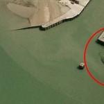 Fotografían un monstruoso cangrejo en un puerto británico