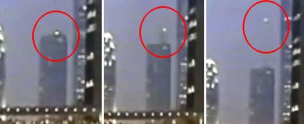 Sorprendente OVNI aparece durante las protestas de Hong Kong