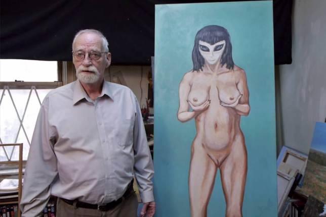 Pintor hijos engendrados extraterrestre