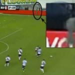 Un fantasma aparece durante un partido de fútbol en Argentina