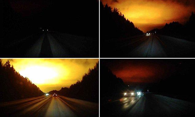"""misteriosa explosion noche dia rusia - Una misteriosa """"explosión"""" convierte la noche en día en Rusia"""