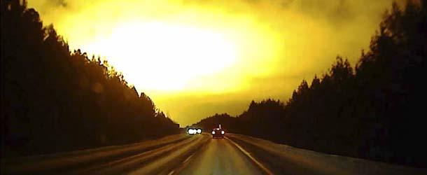 """misteriosa explosion rusia - Una misteriosa """"explosión"""" convierte la noche en día en Rusia"""