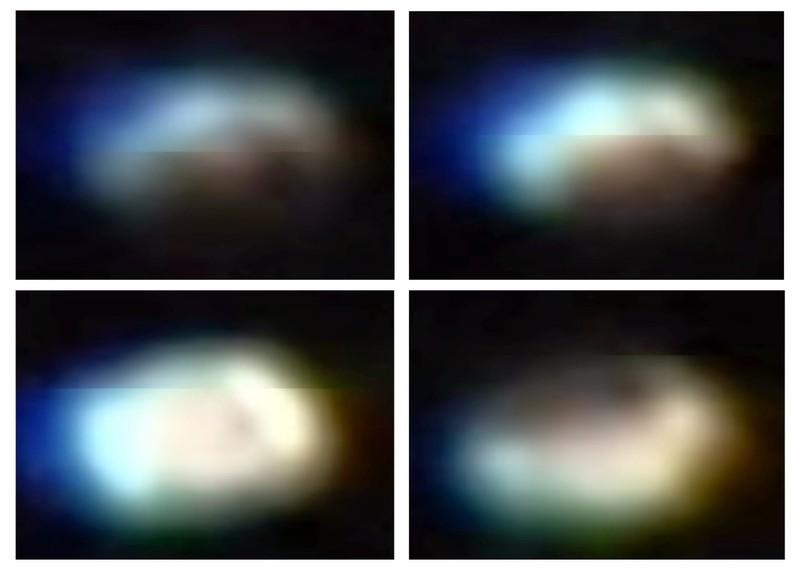 NASA ISS avistamiento ovni