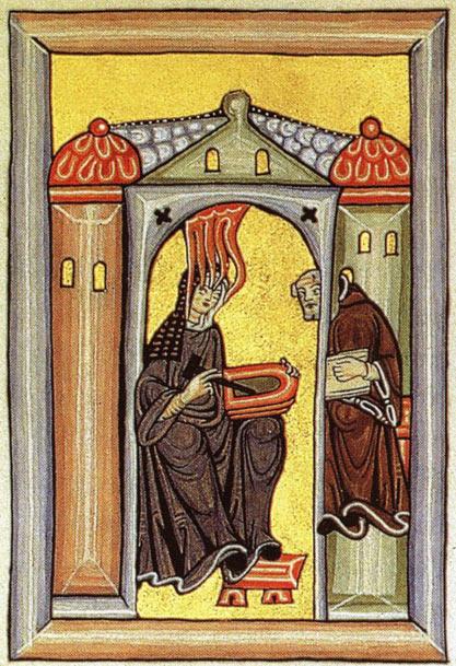 santa hildegarda de bingen - Las profecías apocalípticas de Santa Hildegarda de Bingen