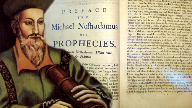 2015 profecias nostradamus - 2015 y las sorprendentes profecías de Nostradamus