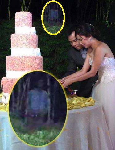 Figura fantasmal boda cantante filipino