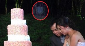 Aterradora figura fantasmal aparece durante la boda de un famoso cantante filipino