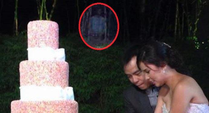 figura fantasmal cantante filipino - Aterradora figura fantasmal aparece durante la boda de un famoso cantante filipino