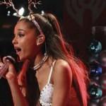 Una maldición casi mata a la cantante Ariana Grande