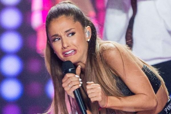 Maldición casi mata Ariana Grande