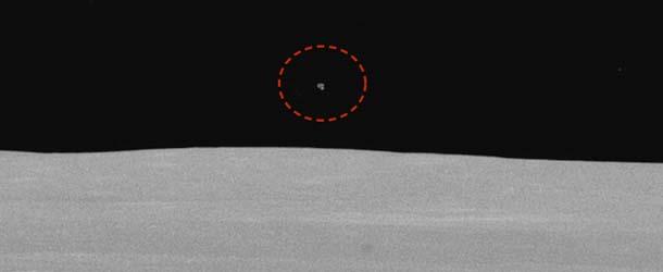 ovni mision apolo 15 - Fotografía de la NASA de hace 44 años muestra un OVNI durante la misión Apolo 15