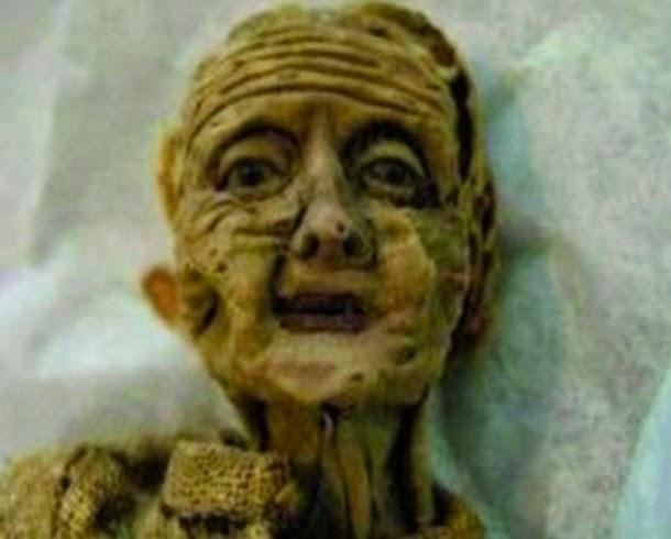 Muñeca envejeció