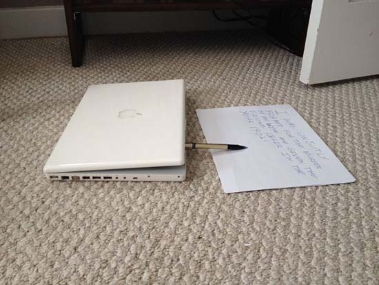 eBay ordenador portátil embrujado