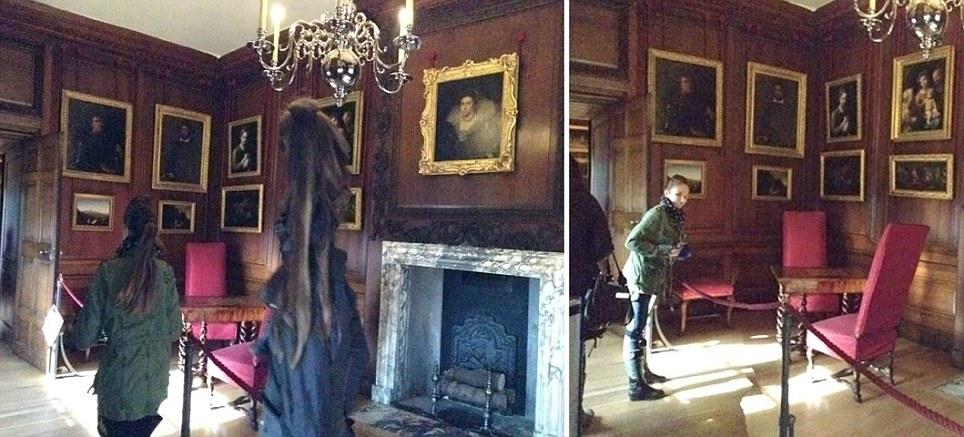 fotografian fantasma dama gris - Fotografían el fantasma de la Dama Gris en el Palacio de Hampton Court