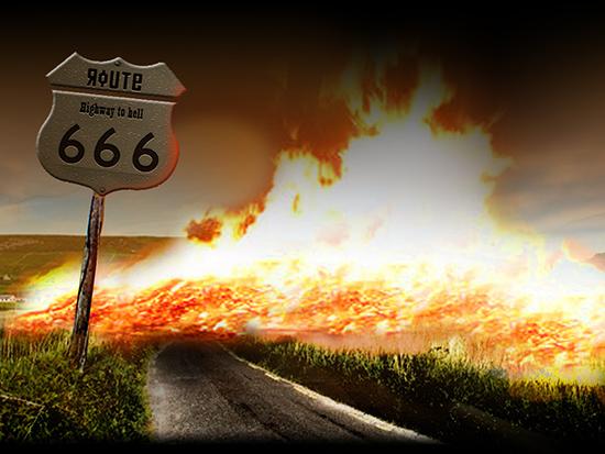 ruta 666 carretera infierno - Ruta 666, carretera al infierno