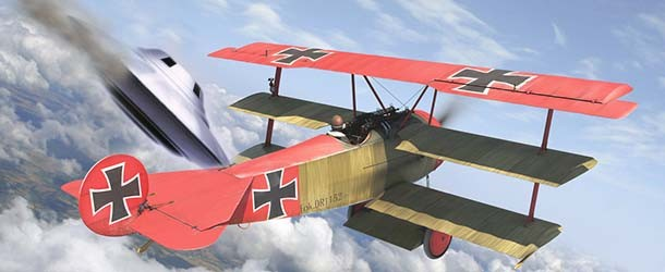 Investigador asegura que el Barón Rojo derribó un OVNI durante la Primera Guerra Mundial