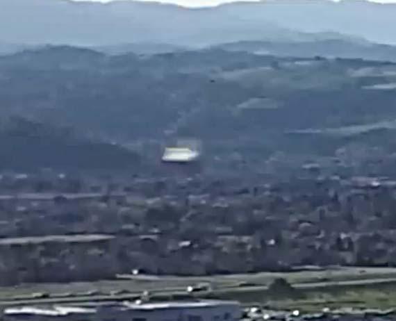 drone ovni silicon valley - Drone graba un OVNI a velocidad supersónica sobre Silicon Valley