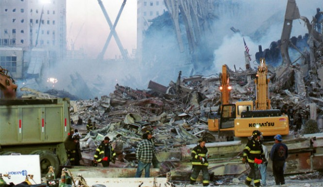 Fantasma escombros atentados 11S