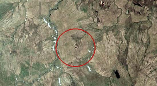 Cráteres Siberia