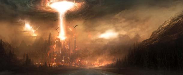 hordas demonios - Hordas de demonios están atacando ciudades enteras
