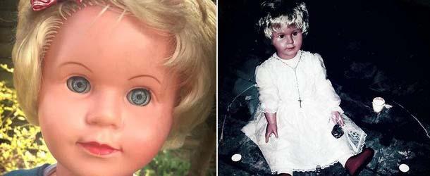 peggy muneca poseida enfermedades - Peggy, la muñeca poseída que causa enfermedades a todo aquel que la mira
