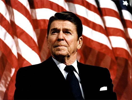 Ronald Reagan Mijaíl Gorbachov extraterrestre