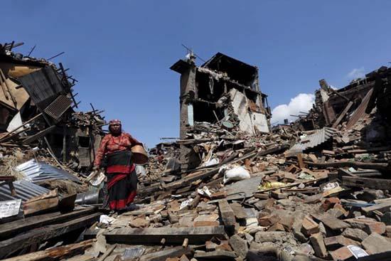 terremoto nepal - Últimos desastres naturales, ¿señales del acercamiento de Nibiru o comienzo del Apocalipsis?